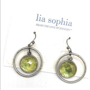 ☀️Lia Sophia Bloomates Ear. Never Worn! Free gift